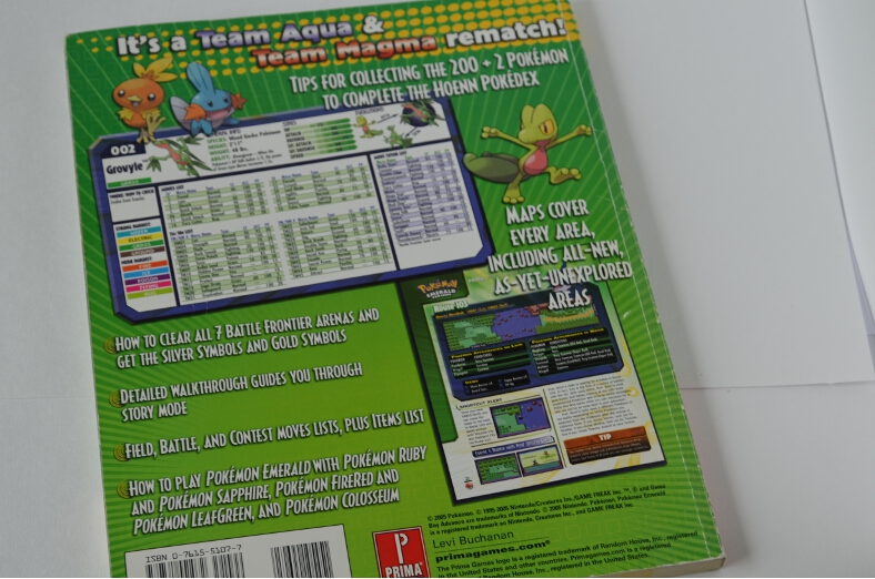 pokemon firered-leafgreen prima official guide pdf