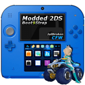 Buy Modded Nintendo 2DS - PokEdit